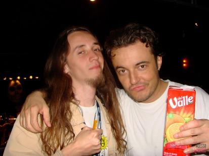 Clovis e Luppi (foto: algum amigo desconhecido)