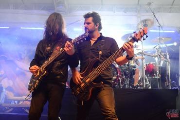 Rafael Bittencourt e Felipe Andreoli em Curitiba, 2016 (foto: Clovis Roman)