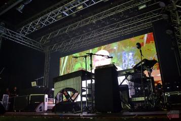 O palco do O Rappa (foto: Clovis Roman)
