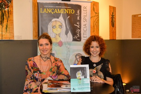 Letícia Spiller e Maureen Miranda (foto: Clovis Roman)