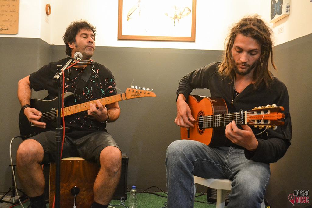 Neco Yaros e Pablo Vares (foto: Clovis Roman)