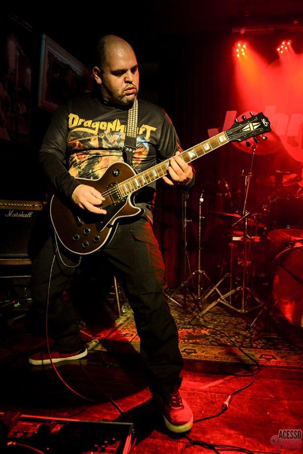 Dragonheart ao vivo (foto: Clovis Roman)