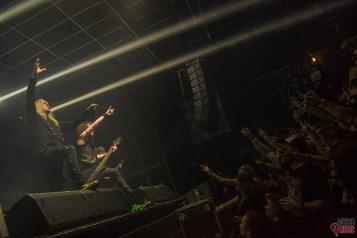 Saxon ao vivo (foto: Clovis Roman)