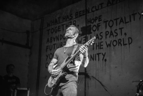 Scott Stapp (foto: Vinicius Grosbelli)