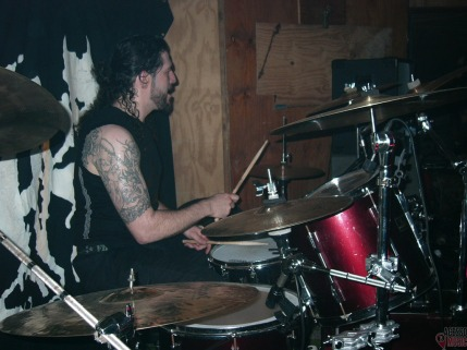Themis Tolis, do Rotting Christ (foto: Clovis Roman)