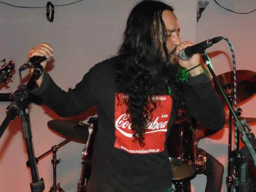 Show de estreia, no Dalborga Fest, 2014 (foto: Clovis Roman)